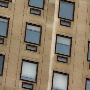 One window hundred of eyes