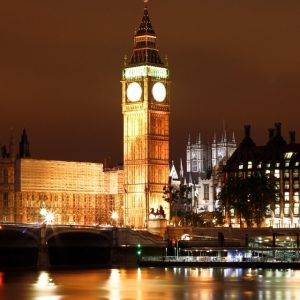 Big Ben at night