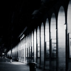Empty arches