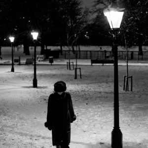 Alone-in-a-snow-night-