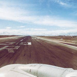 Take off again