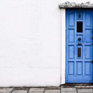 The-blue-door